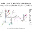 Abbiamo realizzato la mappa degli orari della linea ferroviaria Como-Lecco. Cliccate qui per visualizzarla.