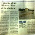 Corretta e molto apprezzabile la volontà di portare il capolinea dei BUS in piazza Vittorio Veneto, piazzale della stazione FS della linea Como-Lecco. È di fondamentale importanza però far coincidere […]